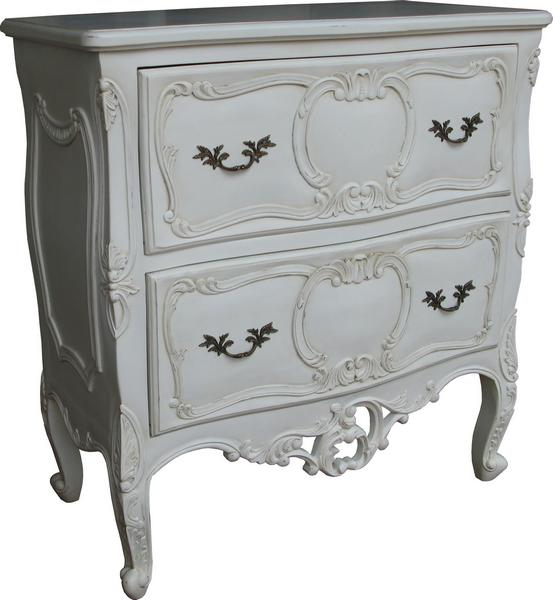 French Rococo 2 Drawer Chest CHT035P