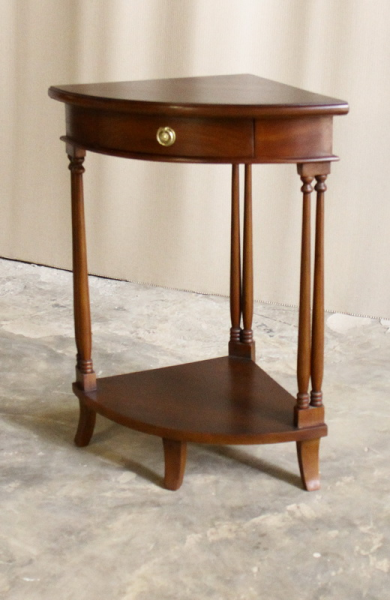 Mahogany Corner Table ELS004