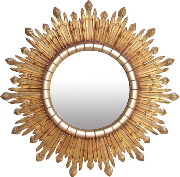 Eclipse Gold Sunburst Mirror MR058