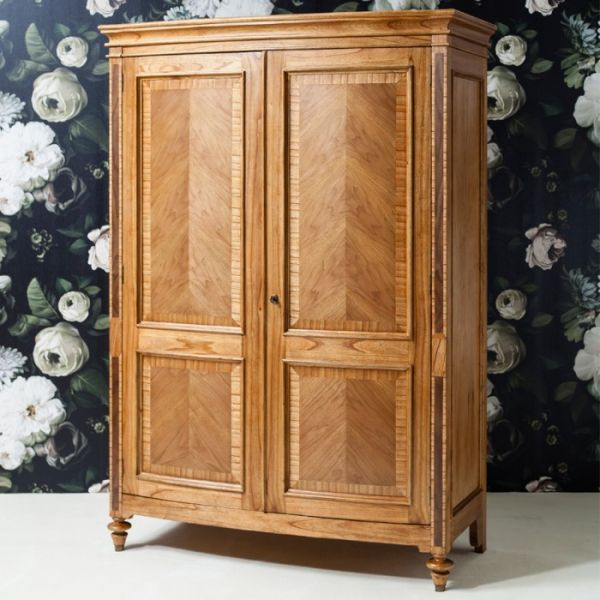 Spire Double Walnut Wardrobe ARMF100