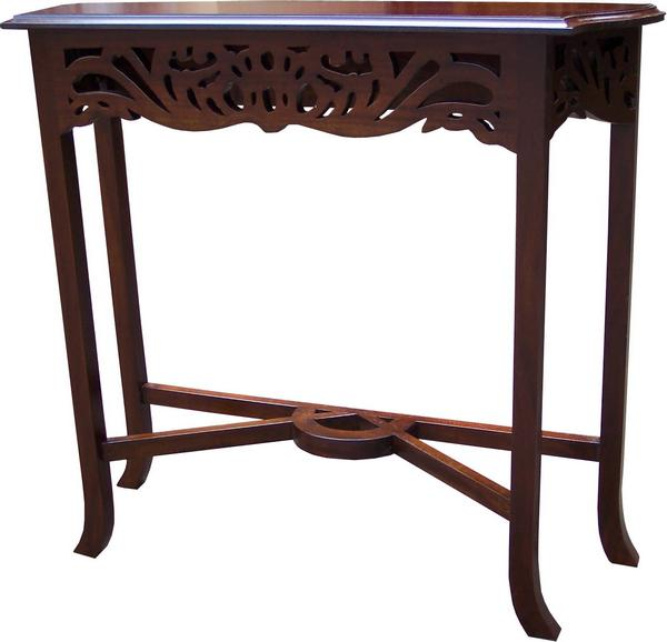 Fretwork Carved Console Table T033