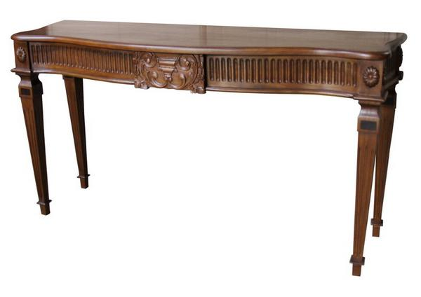 Carved Adam Console Table T026