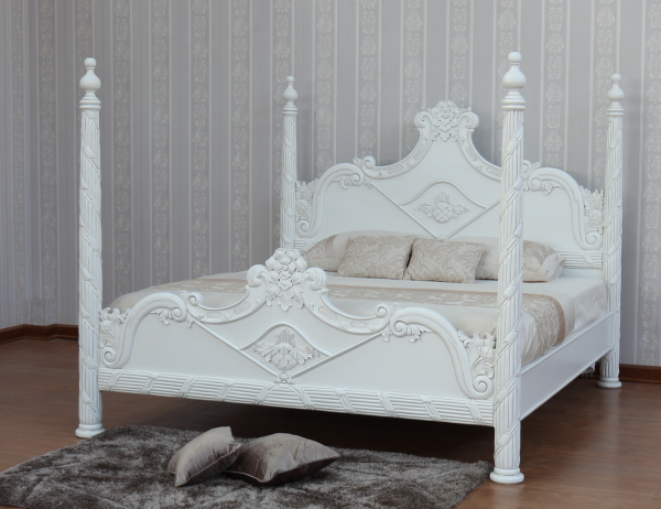 CLEARANCE- French Versailles 4 Poster Bed B026P