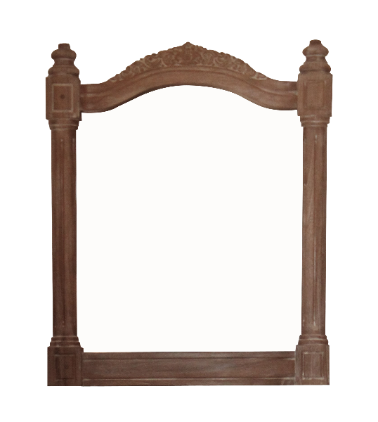Belle French Weathered Mirror