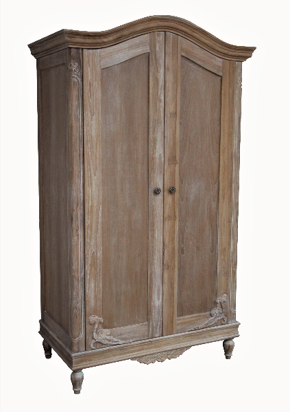 Belle French Weathered Wardrobe