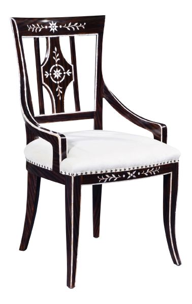 Mother of Pearl Dining Chair