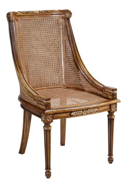 Hampton Dining / Side Chair with rattan