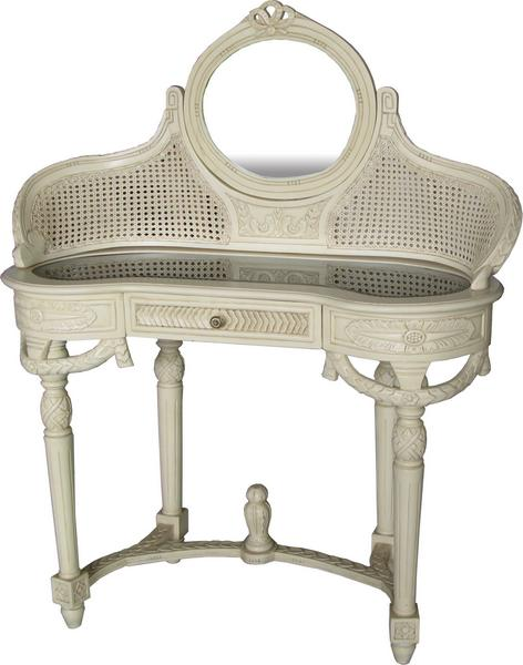 French Dressing Table with Rattan DST003P