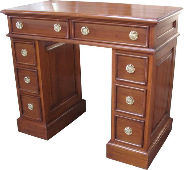Mahogany Antique Reproduction Petite Desk DSK004