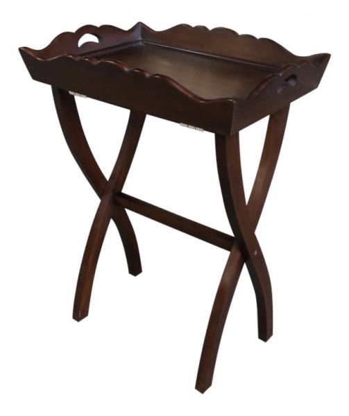 Mahogany Butlers Tray Table OCS033