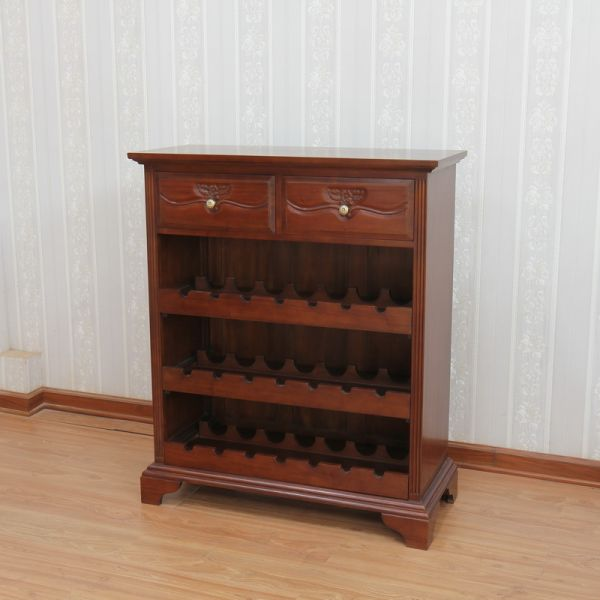 2 Drawer Wine Rack RCK016