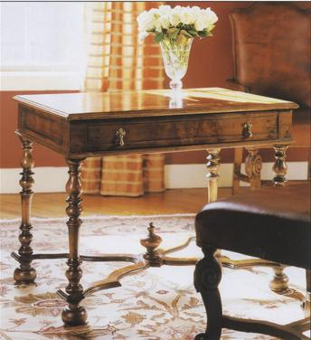 William and Mary Walnut Writing Table