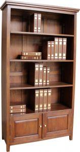 Solid Mahogany New York Bookcase