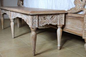 Belle Weathered French Bedroom Furniture