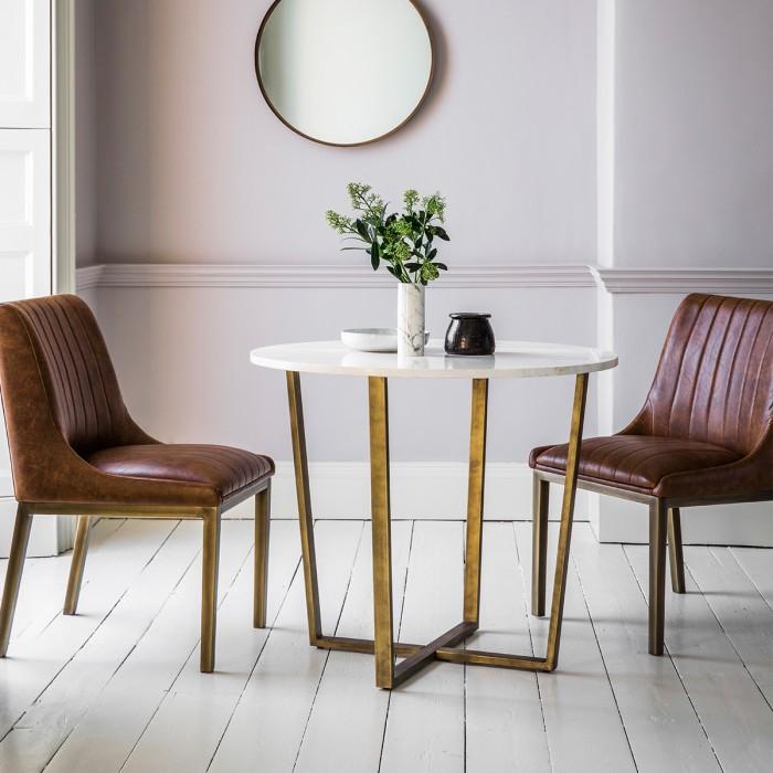 Uk Hudson Living Cleo Round Dining Table