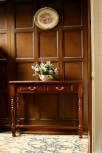 2 Drawer Hall Console Table