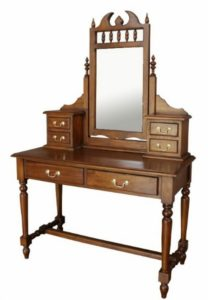 Gothic furniture antique dressing table