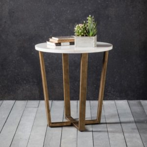 Cleo Marble Side Table