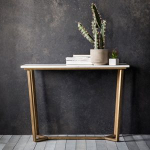 Cleo Marble Console Table