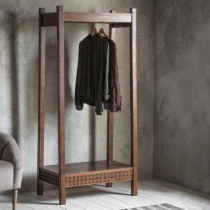Frank Hudson Boho Retreat Open Wardrobe