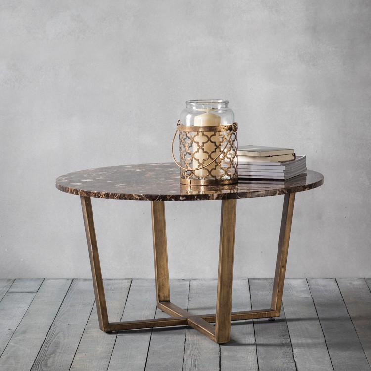 Frank Hudson Emperor Round Coffee Table