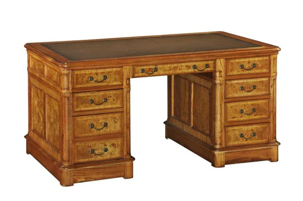 Hampton Walnut Desk Home Office