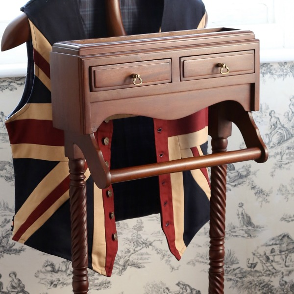 Valet Stand traditional handcrafted