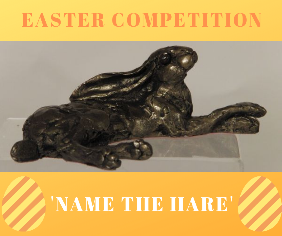 Competition prize of a Bronze sculpture of a Hare