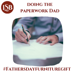 Fathers day furniture gifts quiz-paperwork dad