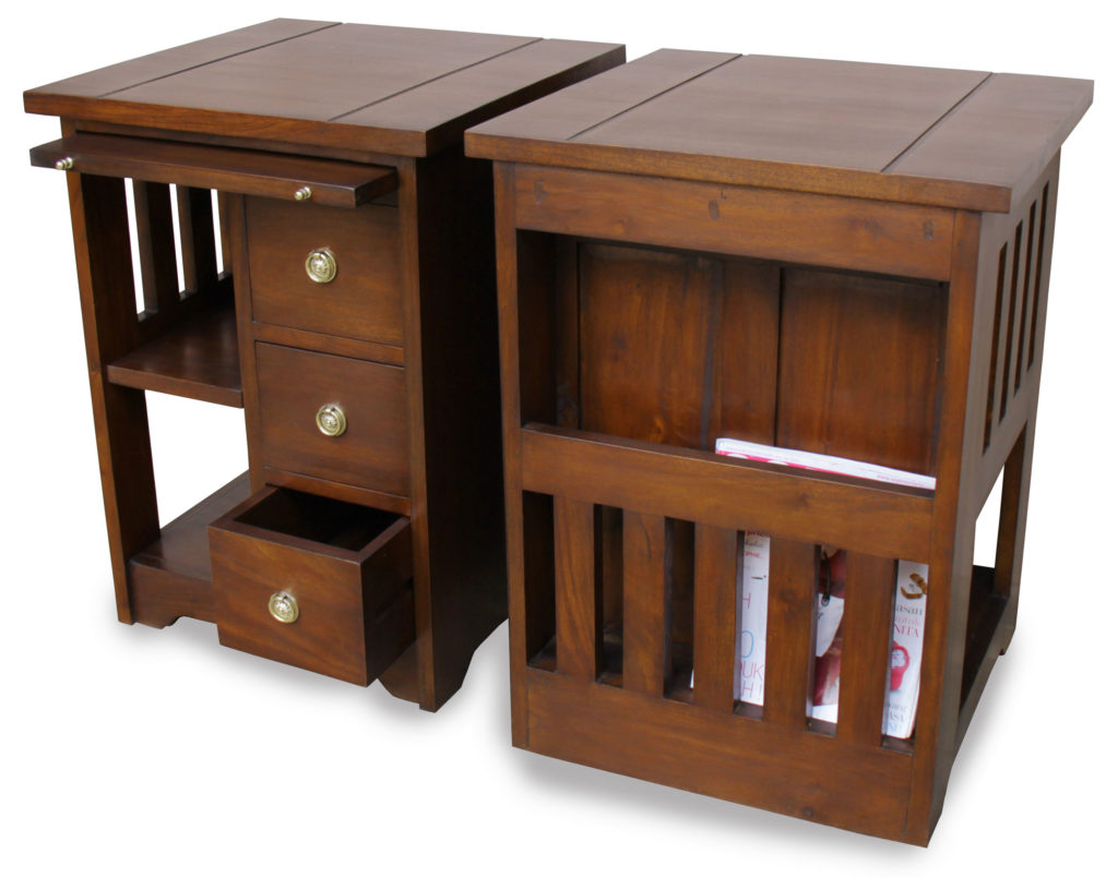 Father's Day gift –mahogany coffee table with storage