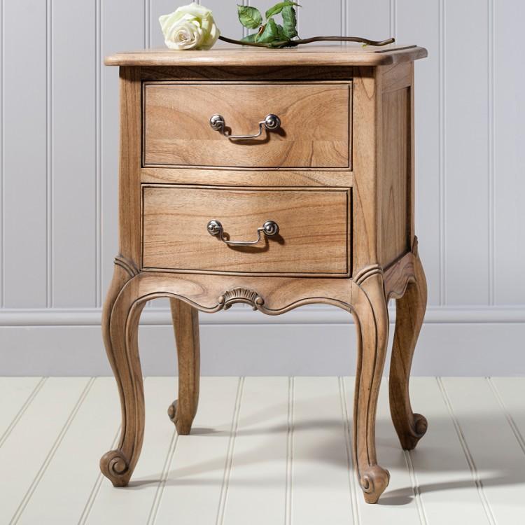 Weathered Furniture - Frank Hudson Chic Weathered Bedside