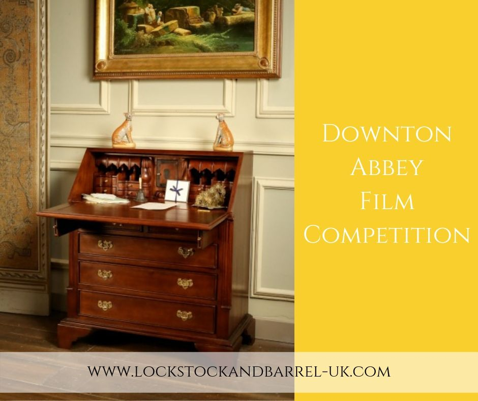 Downton Abbey Film Competition to win a solid mahogany bureau