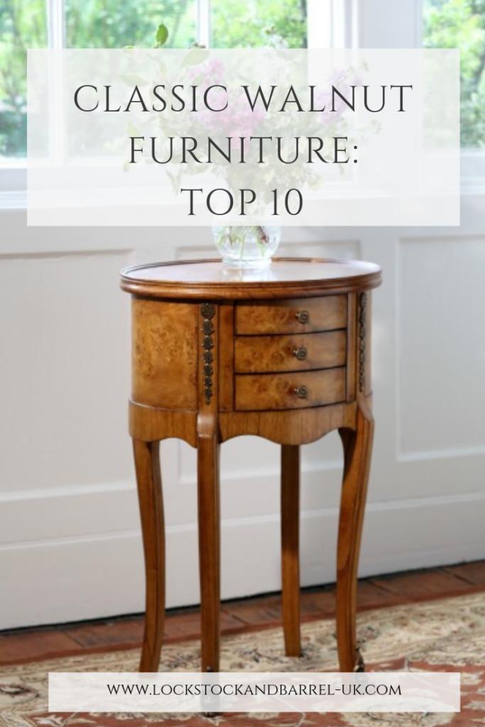 Classic Walnut Furniture: Top 10