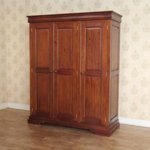 Louis Philippe Bedroom Furniture - Louis Philippe Triple Wardrobe
