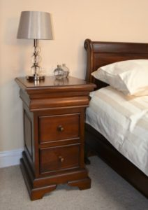 Declutter your Home: Louis Philippe Mahogany Bedside