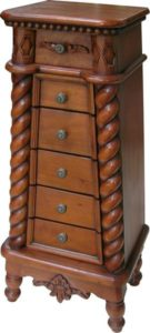 Mahogany Chest of Drawers: Top 10 - Jewellery Chest