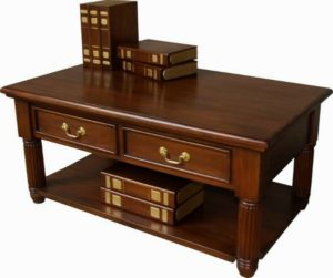 Declutter your Home: Pillar Mahogany Coffee Table