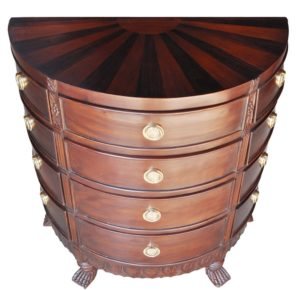 Mahogany Chest of Drawers: Top 10 - Sunburst Chest of Drawers